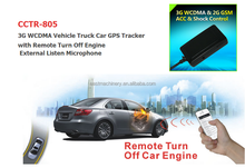 Built in 3G WCDMA & 2G GSM & u-Blox Strong Magnetic Pin 3G Car GPS Tracker