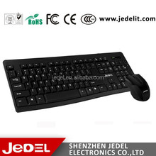 Excellent quality best selling high speed 2.4GHz wireless keyboard&mouse combo