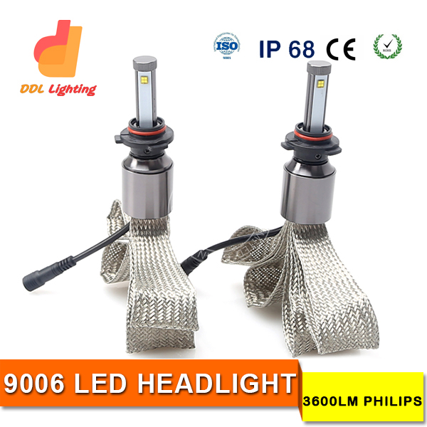 Auto Car 8V 32V High Power Crees XHP70 Chip 13200LM 110W LED Headlight Bulbs Kit 9005 9006 H4 H7 H11