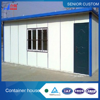Container living quarter,custom container house
