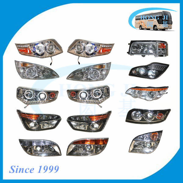 new model auto bus led headlight for yutong higer kinlong toyota coaster yaxing