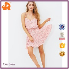 Factory Price Casual Fashion African Dress Designs For Woman Mini Dresses