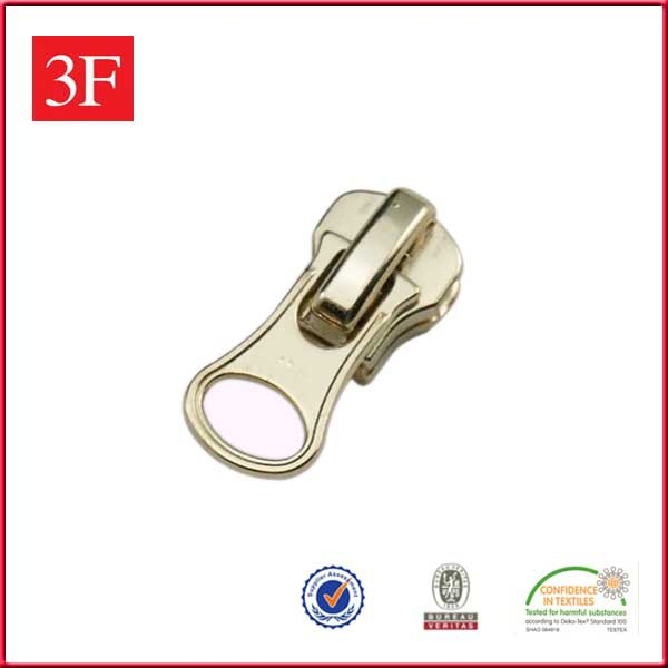 3F Brand Gold Metal Zipper Pulls
