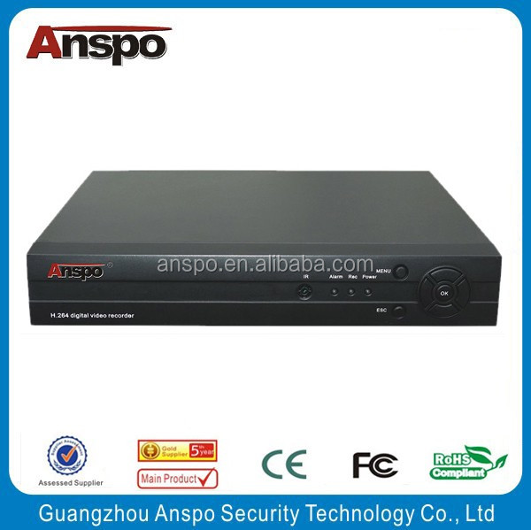 Guangzhou Anspo 2HDD 16 Channel Embedded Standalone DVR Digital Video Recorder H.264