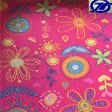 good print oxford fabric with PVC backing for pencil case