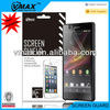 Ultra clear screen protector for Sony xperia z l36h oem/odm(High Clear)