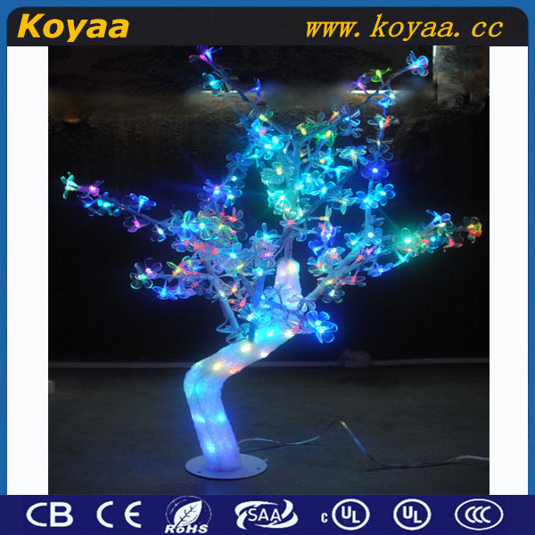 Outdoor led christmas tree decoration for parties