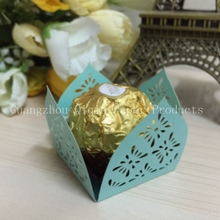 Petal Treat holders dessert holder chocolate favor boxes candy box holder