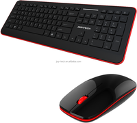 Top Sale Slim multimedia Good Price Odm 2.4G Cordless keyboard and mouse Combo