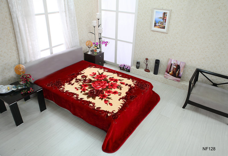 Otsu Keori and Bedshe promotion hot selling soft textile korean and mink blanket
