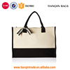 New Design Cheap High-quality Casual Daily Canvas Shopping Tote Handbag for Ladies from China