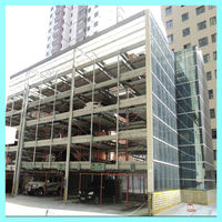 12 3 4 5 6 7 8 9 10 to 15 Floors Rack and Rail Automated Parking Systems