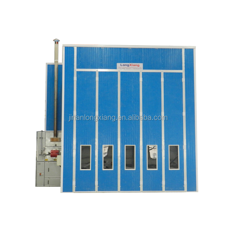 bus Spray booth heating system