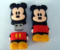 PVC Cartoon USB Flash Drive 2GB 4GB 8GB