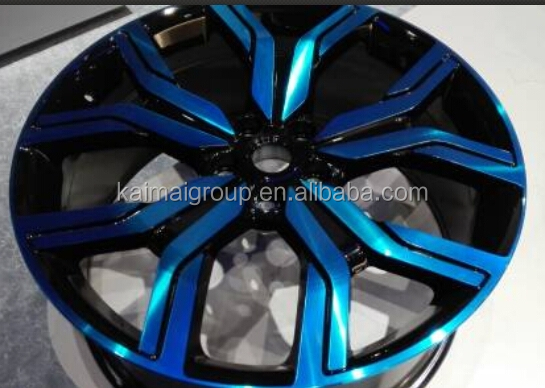 Red face and Blue Face aluminum alloy wheel rims