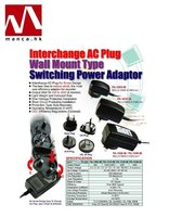 Manca. HK--10w Interchangeable AC Plug Switching Power Supplies