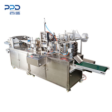 High Speed 60-100pck/minute Four Side Sealing Wet Tissue Making Machine