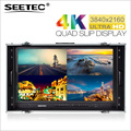 China Professional carry case 4k Monitor lcd hd monitor With H Dmi Input 3G SDI