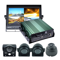 Factory direct 4ch 720p sd card mobile dvr with gps for car bus taxi