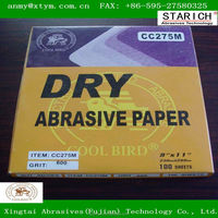 silicon carbide waterproof Sanding Paper