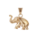 33519 xuping fashion 18k gold color elephant pendant, Stainless Steel Jewelry animal pendant