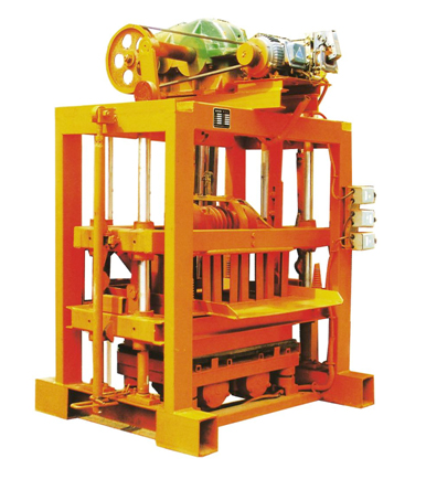 concrete block making machine QTJ4-40 mechnical block making machine concrete solid block extruder for sale