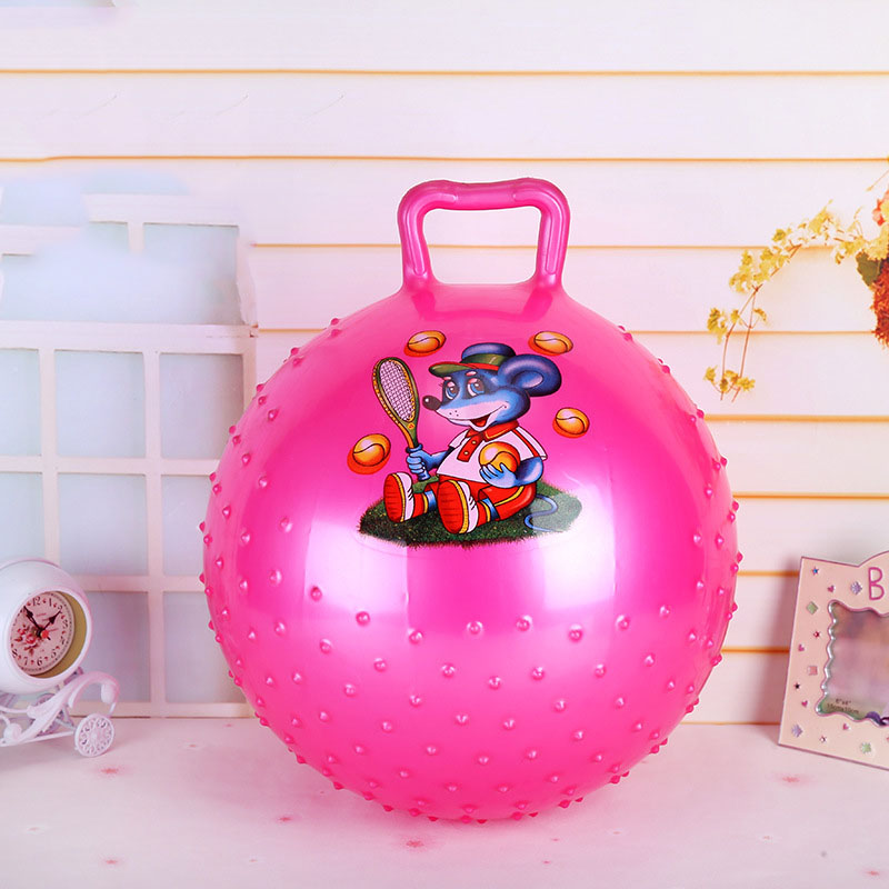 Wholesale PVC Spike Play Jumping Hopper Toy Bouncing Kids Adult Hopper Balls