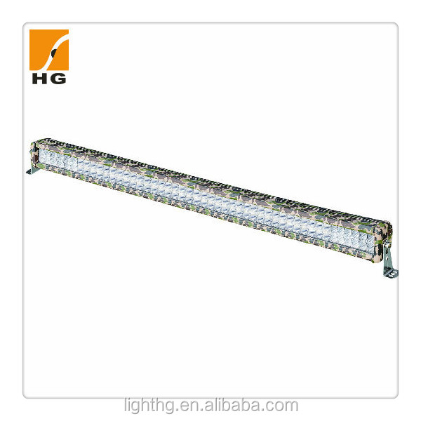 40'' camo led light bar 288w for truck 4x4 camo led bars atv mini Jeep