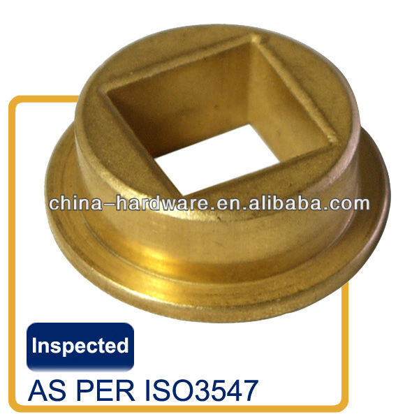 Square hole oil sintered brass bush