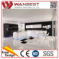China manufacture top level precut veneer kitchen countertop