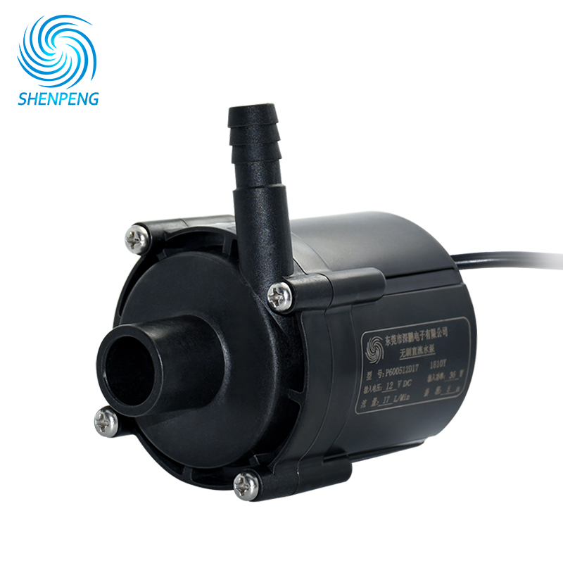 12v 24v Electric High Pressure Water Pump With Lift 8M Flow 20LPM