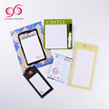 2017 Latest arrival 90 pages magnetic mini note pad bookmark adhesive board note 4