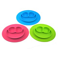 Amazon Hot Sale Food Serving Sale Baby One piece Silicone Rubber Placemats
