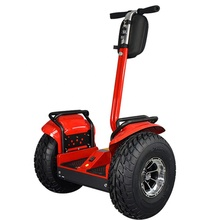 New promotion 48v 60v 2000w big wheel police electric chariot scooter with Handspike