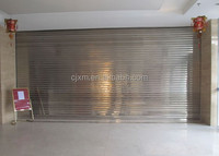 Anti-thieves Motorized Stainless Steel Outdoor Roller Shutter