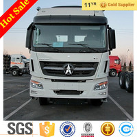 China Tractor Truck Beiben V3 420hp Heavy Loading Trailer Head For Sale