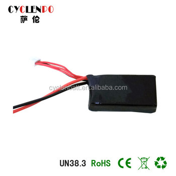 Hot selling 3000mah 7.4v RC lipo battery light in weight battery for toy airplane