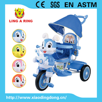 Hot sale cheap baby tricycle new models with music and light cheap children tricycle baby trike Rabbit head with music and light