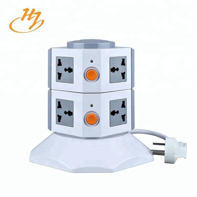 Huijun Brand Aibaba Com Vertical Socket With1-5 Meters Power Line