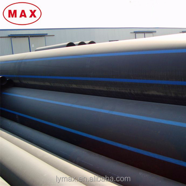Large Diameter HDPE Water/Gas Supply perforated hdpe pipe