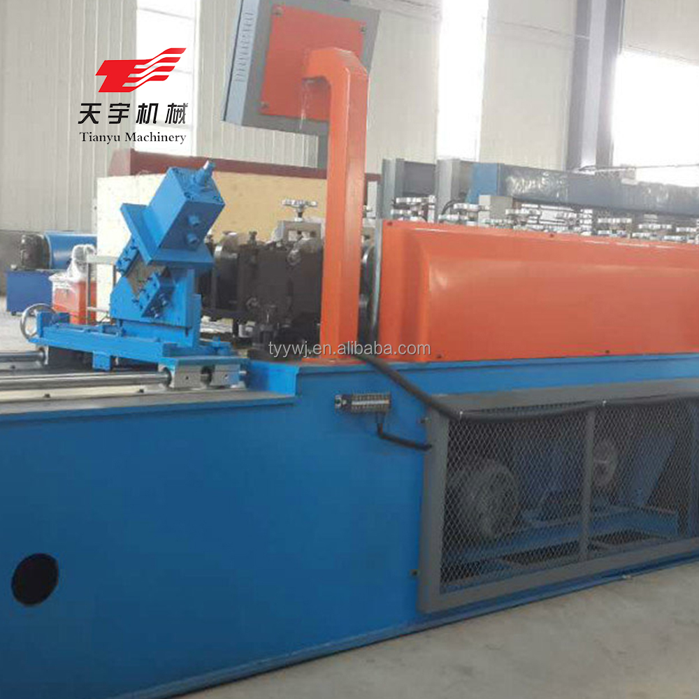 Full automatic c channel steel frame cad roll forming machine for sales