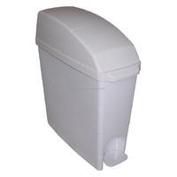 factory price 13 liter toilets trash ash-bin ashcan garbage dustbin can ashbin plastic bathroom wastebin Feminine Hygiene Bin