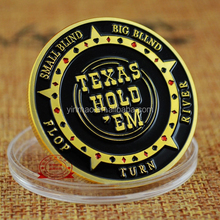 Golden Casino Coins Texas Hold'em Clay Poker Chips Coins