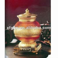 imitation antique teapot,colored glaze souvenir handicrafts