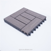 lyw low price wpc composite diy decking tiles