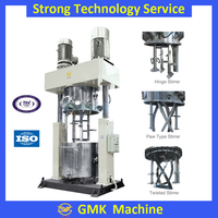 Liquid silicone rubber dispersing power mixing machine