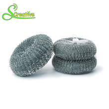 High zinc scrubber pan mesh cleaning ball galvanized scourer