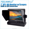 7inch dslr camera monitor built in HDMI-SDI convertor FEELWORLD Z7
