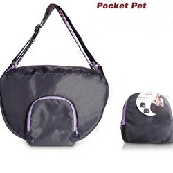 light foldable waterproof pet pocket bag
