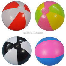 pvc inflatable beach ball for promotion, cheap inflatable beach ball